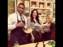 """LIVE with Kelly and Michael on Instagram: """" LauraPrepon showing KellyandMichael her StashPlan Quinoa Tabbouleh recipe! Go to our website for the recipe. OITNB"""""""
