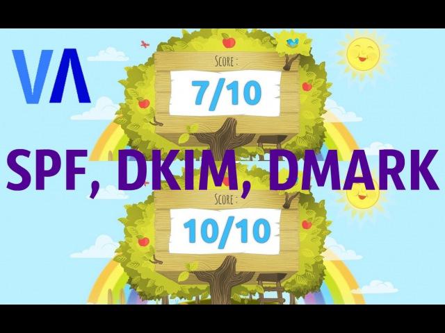 Как прописать записи SPF DKIM DMARK для домена NEW