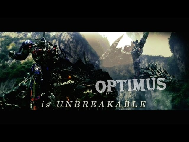 Transformers: Age of Extinction Music Video Unbreakable