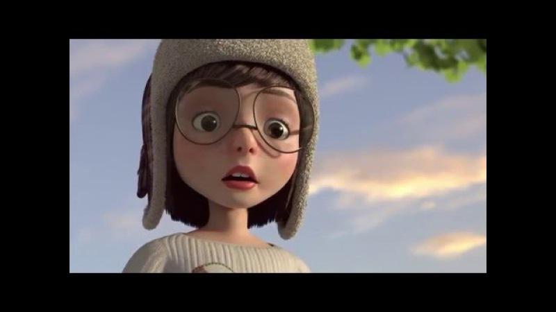 Мультфильмы для детей.ВЗЛЕТЕТЬ - короткометражный мультфильм