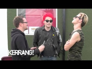 Kerrang! Podcast: My Chemical Romance