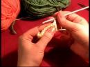 5 Урок Вязание крючком для начинающих Столбики с накидом knitting crochet