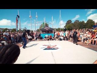 Snu Dee (Winner) vs Edgar | 1/16 Final  | Ghetto Dance Ventspils 2016