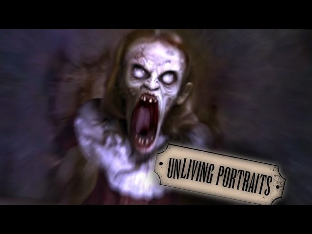 AtmosFearFX Unliving Portraits : Flatscreen TV and Projection Effects: Halloween Digital Decorations