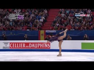 Чемпионат Европы по фигурному катанию 2015. Елизавета Туктамышева. Произвольная программа