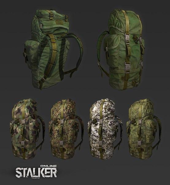новую картинки рюкзак сталкера текущем