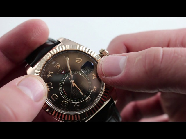 Rolex Everose Sky-Dweller 326135 Luxury Watch Review How-To