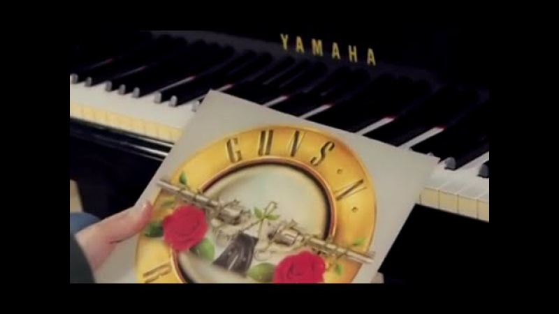 Guns N' Roses Sweet Child O' Mine Piano Rock Cover play by ear Fabrizio Spaggiari Milan