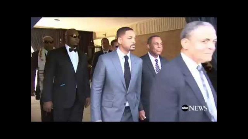 Muhammad Ali Funeral Will Smith Mike Tyson Others Carry Ali's Casket