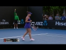 Kovinic v Bacsinszky match highlights 2R Australian Open 2017