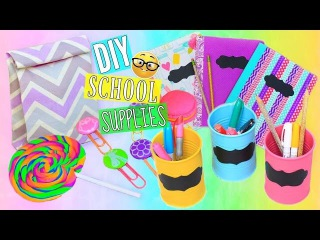 6 DIY Back To School Supplies Cute & Colorful   Tumblr Inspired