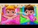 Уход за малышами Макс и Катя Вредные близнецы наказание для Мамы Baby Twins