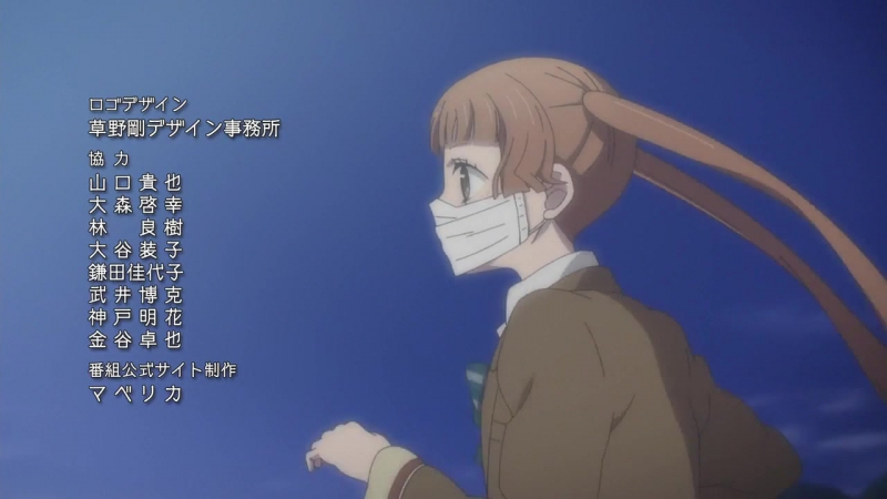 [AnimeOpend] Fukumenkei Noise Anonymous Noise 1 ED | Ending [Не скрывая крик 1 Эндинг] (720p HD)