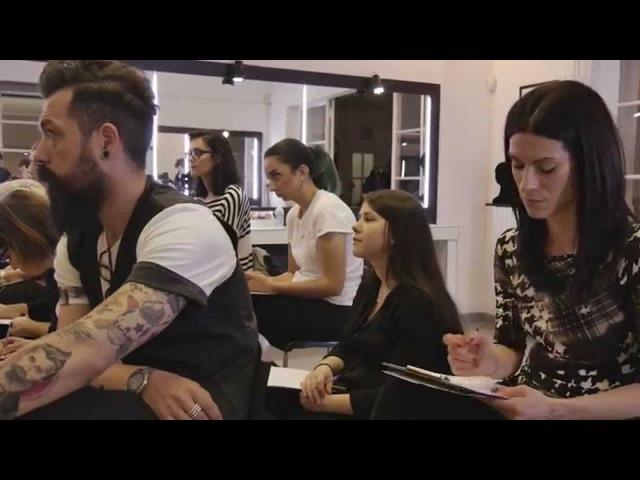 Einat Dan for Pro*Lab make up academy Fashion Editorial Workshop