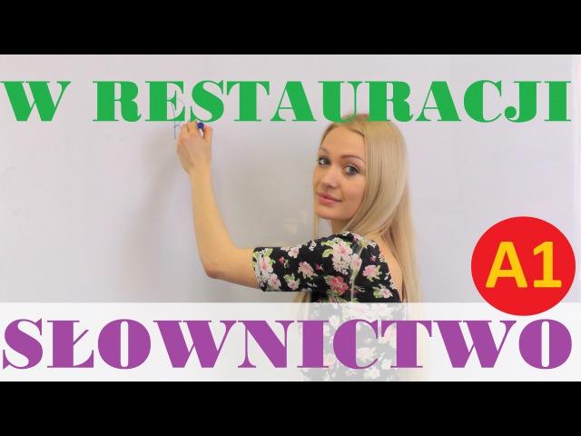 Polish for foreigners w restauracji