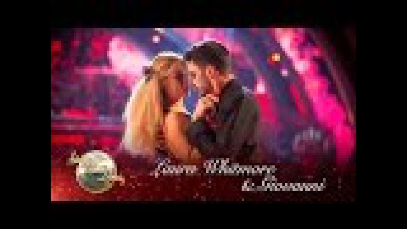 Laura Whitmore and Giovanni Pernice Tango to 'Paint It Black' Strictly 2016 Halloween Week