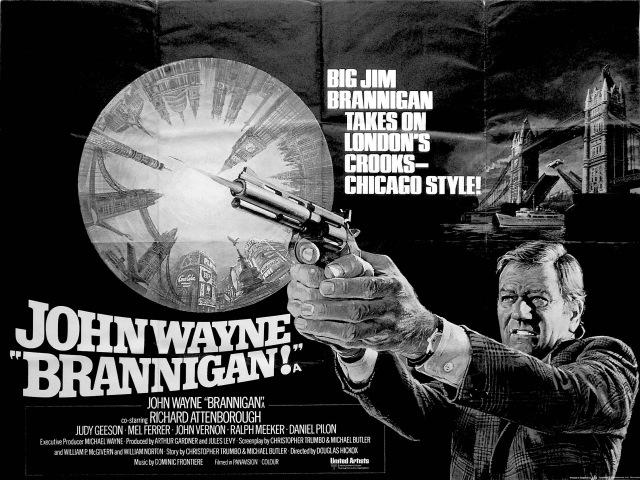 Rare 1974 John Wayne Interview Behind the Scenes of 'Brannigan'