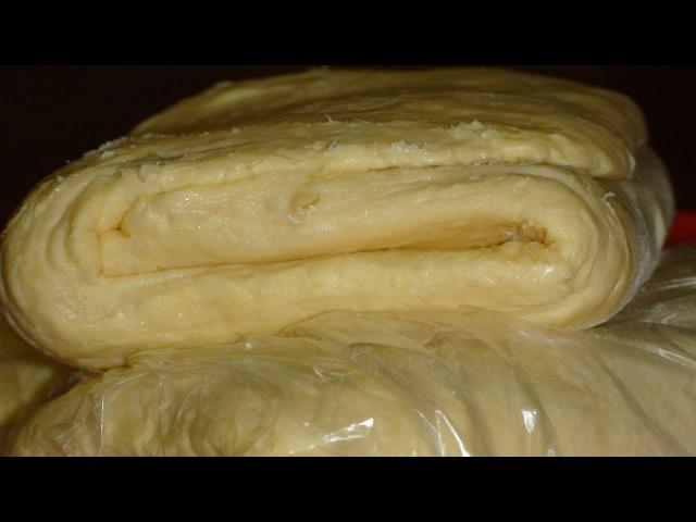 Универсальное слоеное тесто Для наполеона puff pastry