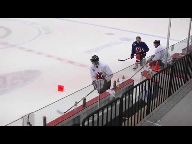Quick Look Jagr stickhandling drill