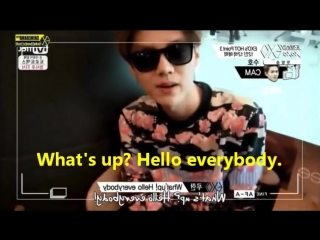compilation luhan - speaking english (xiao mei)