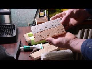 Изготовление формы из строительного силиконового герметика.Часть №1