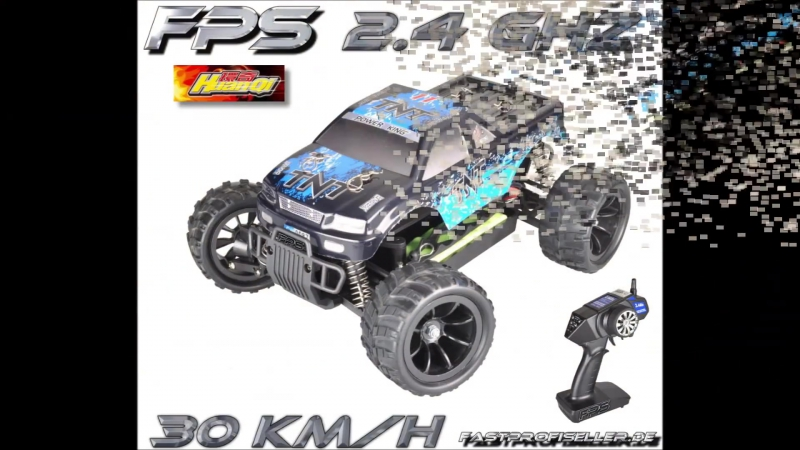 HuanQi HQ732 2 4 GHZ RC Monster Offroad Buggy Allrad 4WD 380er Motor 30 kmh RTR Testbericht Review
