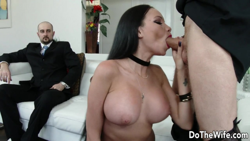 [DoTheWife] Raven Bay - Watch Me Fuck Your Wife! [All Sex,Big Tits,Blowjob,Cuckold,New Porn 2017]