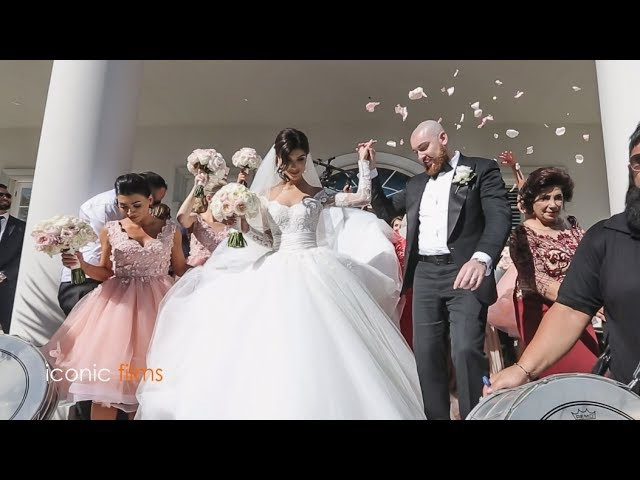 The groom meets his bride Khadijeh Mehajer in the most lavish way LEBANESE WEDDING