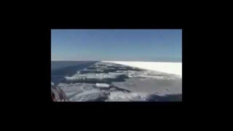 Лед в Антарктиде подрезают НЕИЗВЕСТНО ЧЕМ! НЕИЗВЕСТНО КТО!