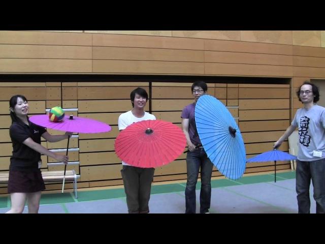 Japanese Umbrella Jugglers in JJF 2014