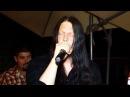 Jonas Renkse of Katatonia singing The Cure - Love Song at Serbian wedding