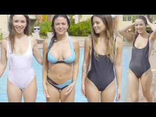 Swimsuit Porn In Pool