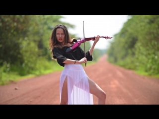 Rockabye (Clean Bandit ft. Sean Paul  Anne-Marie) - Electric Violin Cover ¦ Caitlin De Ville