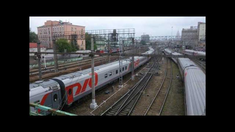 ЭП20-009 с поездом 030С Премиум Москва (Казанский вокзал) - Новороссийск