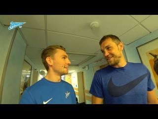 Видеоблог «Зенит-ТВ»: Роналдиньо, заводной Дзюба и сердце Кокорина