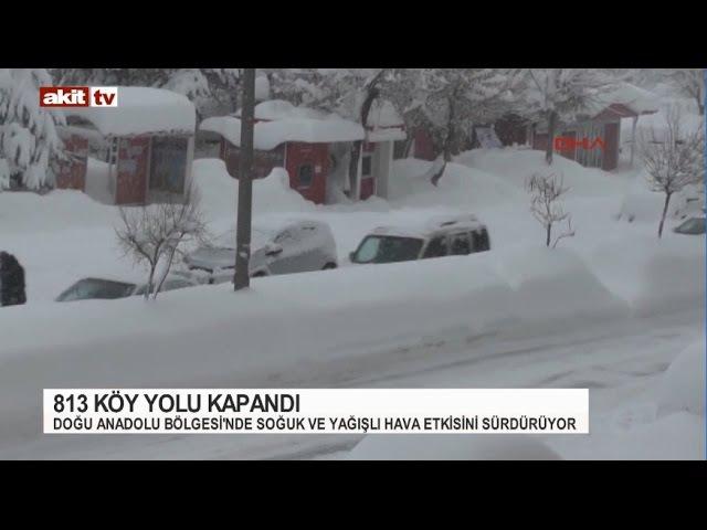 Doğu Anadolu'da Sibirya soğukları