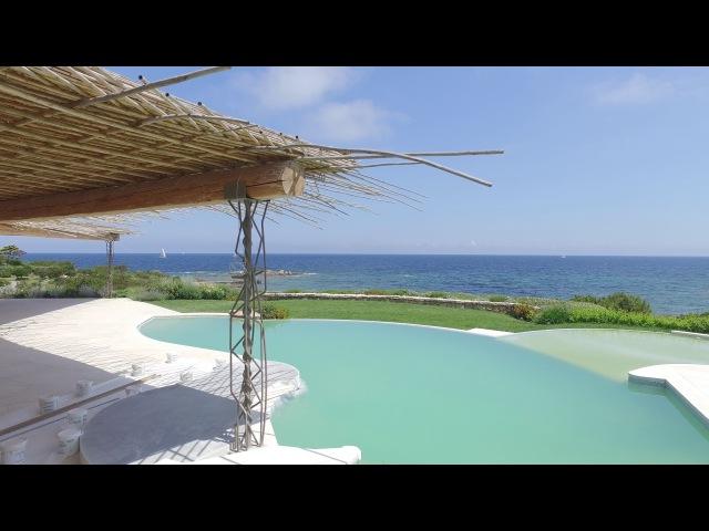 Новая элитная вилла Порто Черво с собственным пляжем в приватной зоне