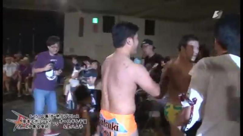 Hamuko Hoshi Hercules Senga Tsutomu Oosugi vs Arisa Nakajima Takumi Tsukamoto Command Bolshoi 6 15 2014