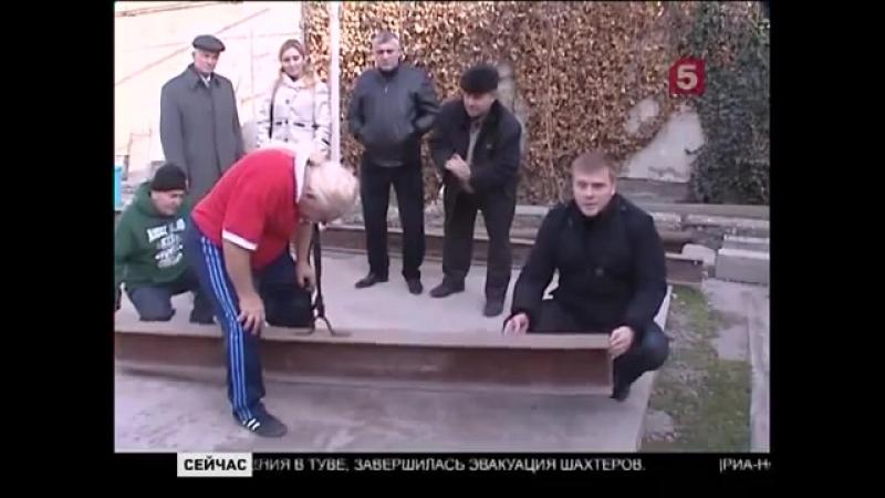 Дагестанский 82 летний силач