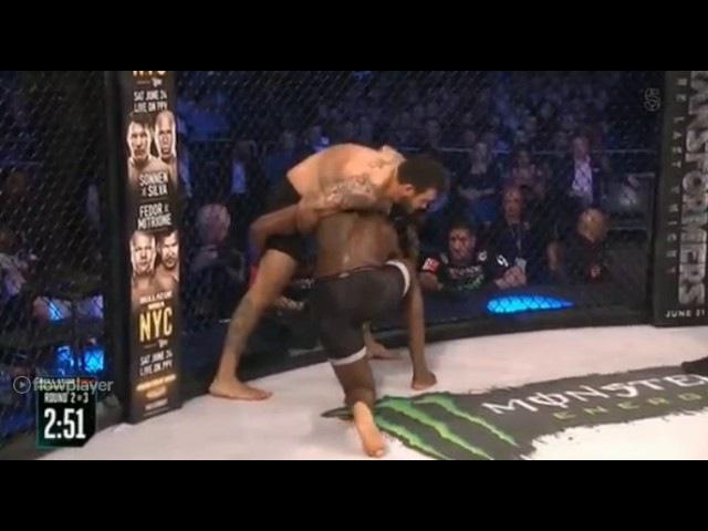 Cheick Kongo vs Augusto Sakai / Liam Mcgeary vs Linton Vassell - Bellator 179 (reup with sound)