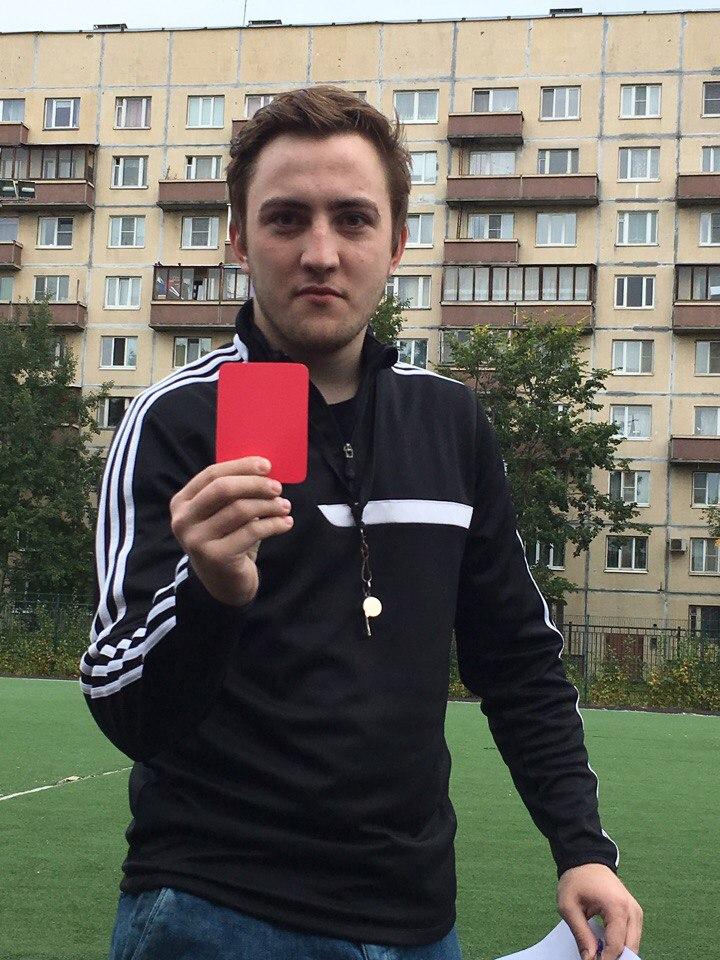 Антон Конюк дебютирует в судействе
