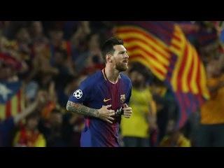 Gol de Messi! O Segundo! Barcelona 3 x 0 Juventus - Liga dos Campees 12/09/2017