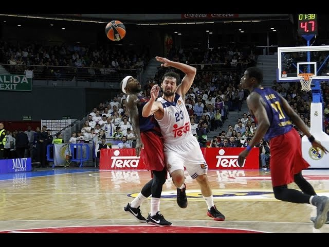 Turkish Airlines EuroLeague Round 27 MVP Sergio Llull Real Madrid