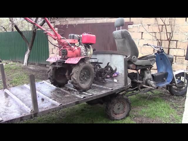 Моторолер муравей .(модернизированный) Выпускает.Авто мото вело фото брычко тра ...