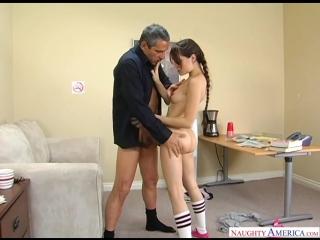 Студентка Сашка Грей занимается сексом с директором универа