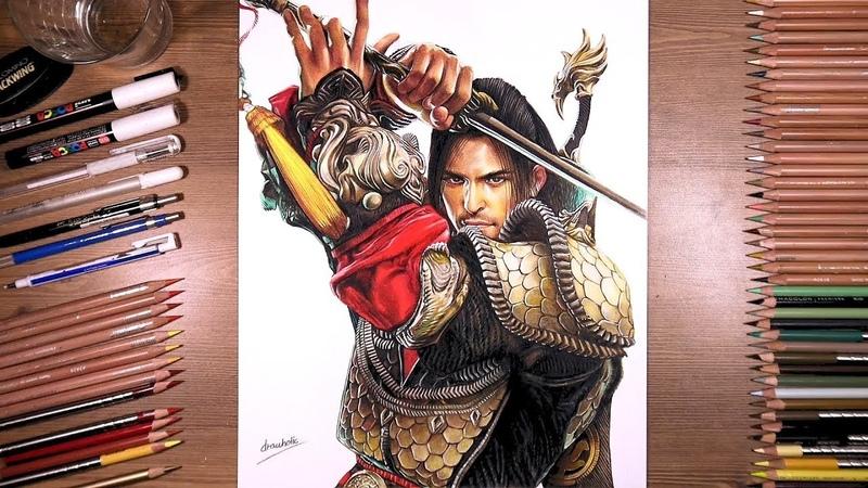 Drawing Blade Master - Black Desert Mobile | drawholic