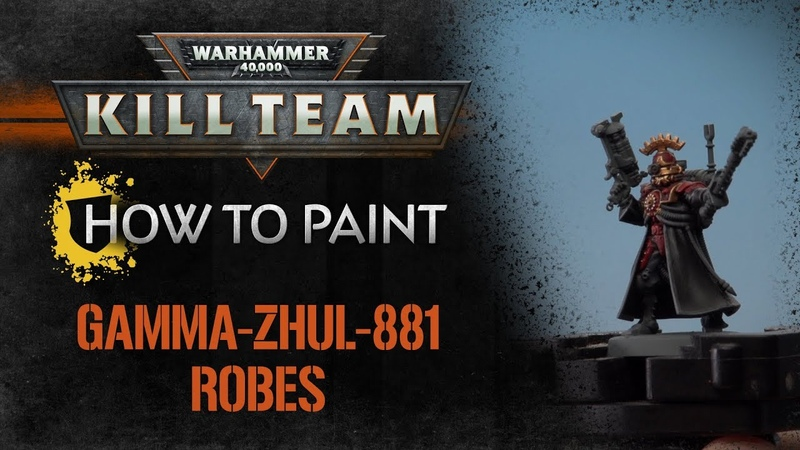 How to Paint Kill Team – Gamma-Zhul-881 Robes.