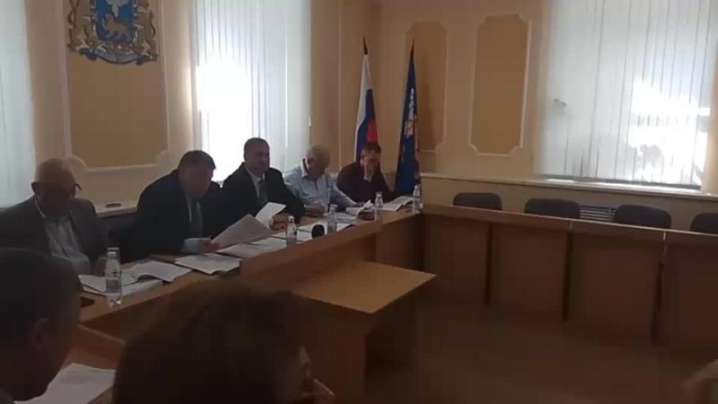 Комитет ЖКХ в Псковской городской думе. Отчёт начальника УГХ г.Пскова