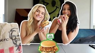 KFC Pickle Fried Chicken MukMuk! (Mukbang) ft Jazmine Garcia