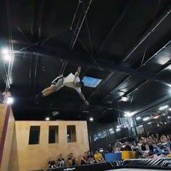 Greg Roe Trampoline on Instagram: Had an amazing Freestyle Trampoline Competition at @woopljubljana in Slovenia  Huge shoutout to at @dunkingde...